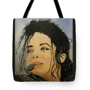Michael Jackson Tote Bag