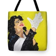 Michael Jackson The Hand Tote Bag