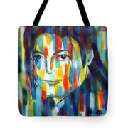 Michael Jackson  The Man In Color Tote Bag