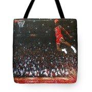 Michael Jordan Custom Painting Tote Bag