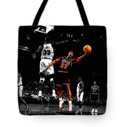 Michael Jordan Left Hand Tote Bag