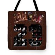 Michael Jordan Wood Art 2h Tote Bag