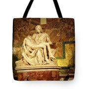 Michelangelo Masterpiece Of A Mother's Love Tote Bag