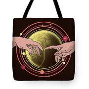 Michelangelo Space  Tote Bag