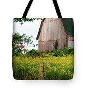 Michigan Barn Tote Bag by Michael Peychich