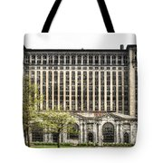 Michigan Central Station Detroit Tote Bag