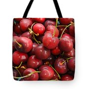Michigan Cherries Tote Bag