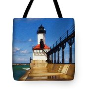 Michigan City Light 1 Tote Bag