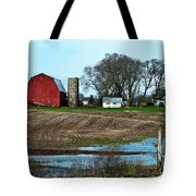 Michigan Farm Tote Bag