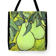 Michigan Pears Tote Bag