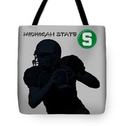 Michigan State Football Tote Bag
