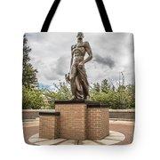 Michigan State - The Spartan Statue Tote Bag
