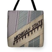 Michigan State University Signage 02 Tote Bag