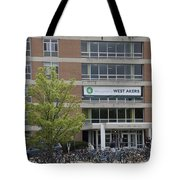 Michigan State University Welcome To Akers Signage Tote Bag