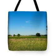 Michigan Summer Fields Tote Bag