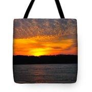 Michigan Sunset Tote Bag
