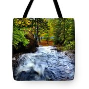Michigan Waterfall Tote Bag