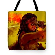 Michonne Tote Bag