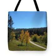 Mickelson Trail Tote Bag