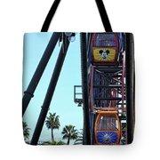 Mickey Donald Ferris Wheel California  Tote Bag