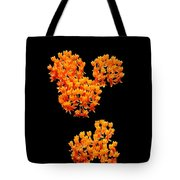 Mickey Flowers Tote Bag