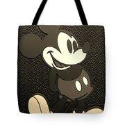 Mickey Mat Sepia Tote Bag