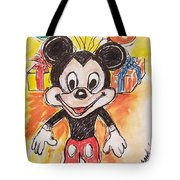 Mickey Mouse 90th Birthday Celebration Tote Bag