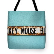 Mickey Mouse Blvd Tote Bag