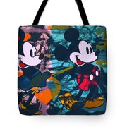 Mickey Mouse Vs. Minnie Mouse Stage On Tote Bag