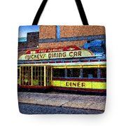 Mickey's Dining Car Tote Bag