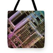 Microprocessors Tote Bag by Michael W. Davidson
