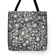 Microscopic Abstract Shapes Tote Bag