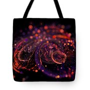 Microscopic Iv - Glass Jewels Tote Bag by Sandra Hoefer