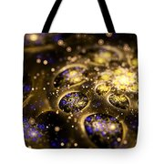 Microskopic Vii - Galaxy Tote Bag