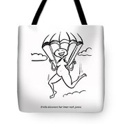 Mid Air Discovery Tote Bag