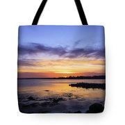 Mid April Sunset Tote Bag