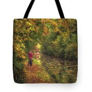 Mid Autumn On The Grand Union No 2 Tote Bag