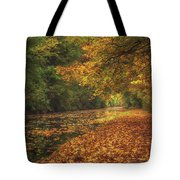 Mid Autumn On The Grand Union No 4 Tote Bag