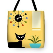 Mid Century Ball Clock 3 Tote Bag
