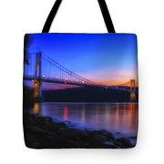 Mid-hudson Glow Tote Bag