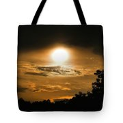 Mid-june Sunset Tote Bag
