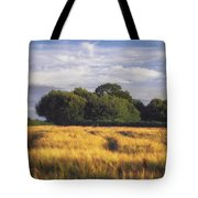 Mid Summer Cereal Field Tote Bag
