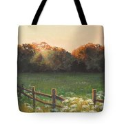 Mid-summer Sunset Tote Bag