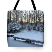 Midcoast Sunrise  Tote Bag