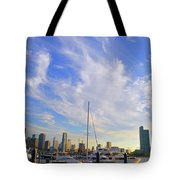 Midday In Miami Tote Bag