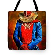 Middle Ages Spider Man Tote Bag