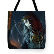 Middle-earth Shadow Of Mordor Tote Bag