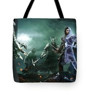 Middle-earth Shadow Of War Tote Bag