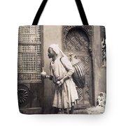 Middle Eastern Street Vendor Tote Bag