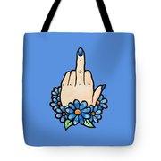Middle Finger Tote Bag